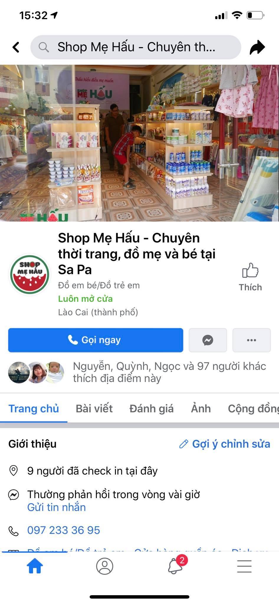 Shop Bán đồ Mẹ Và Bé Sapa