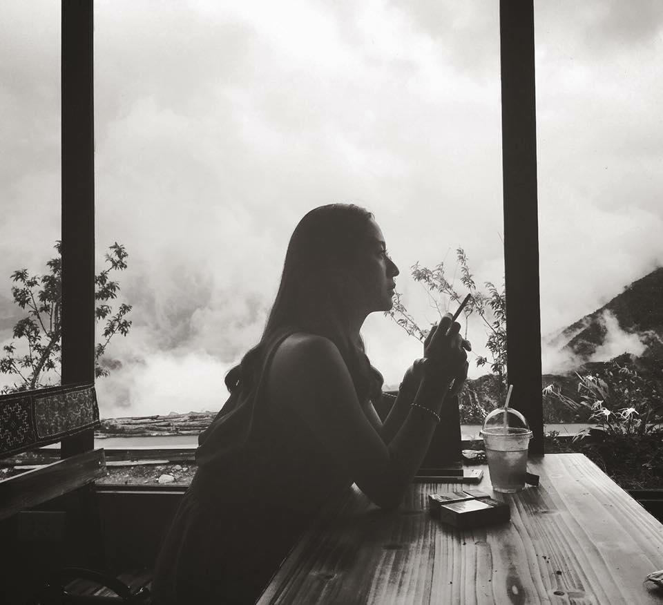 Quan cafe view đẹp tại thị trấn Sapa