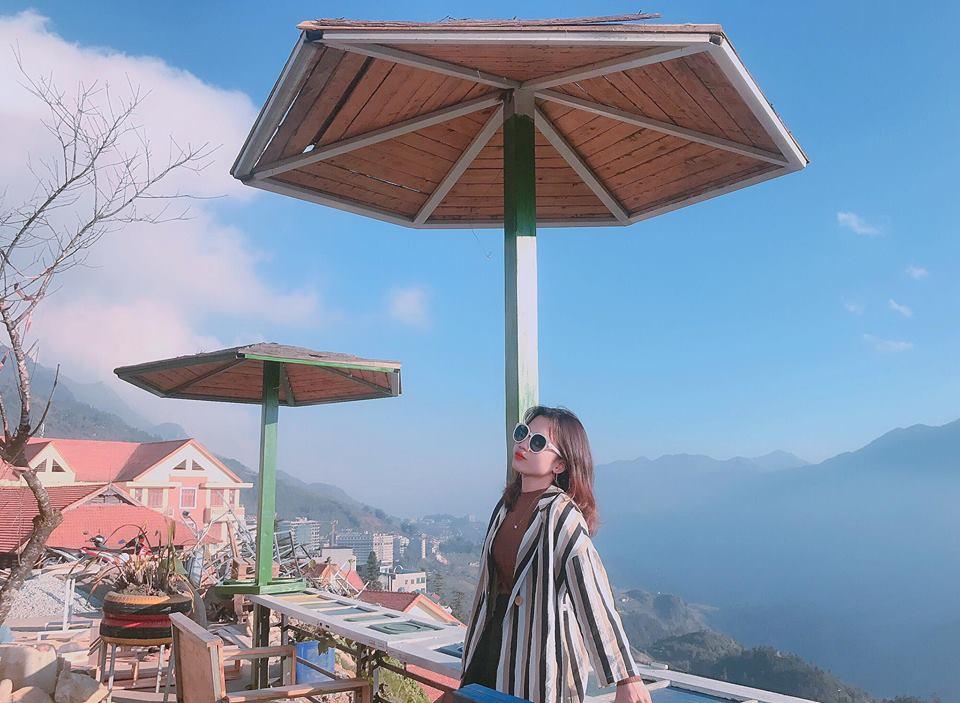 Quán cafe view đẹp tại thị trấn Sapa