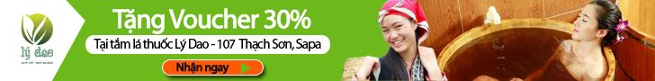 tắm lá thuốc Sapa