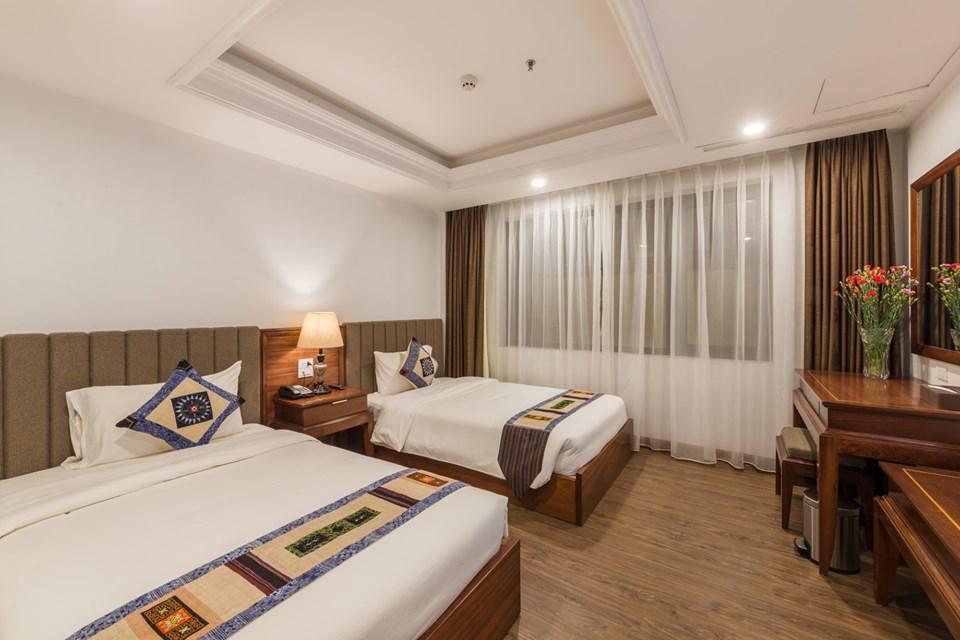 Phòng Superior của khách sạn Bamboo Sapa hotel